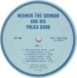 DANCE - DINGES HERMAN - VAB 66 R