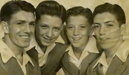 DICK WILLIAMS WITH BROTHERS