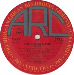 EARTH WIND FIRE - ARC 36797 R