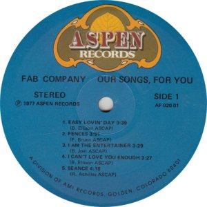 FAB CO - ASPEN 2001 R