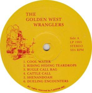 GOLDEN WEST WRANGLERS - GW 1983 R