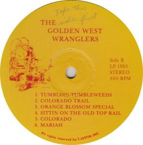 GOLDEN WEST WRANGLERS - GW 1983 R_0001