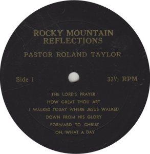 GOSPEL - TAYLOR ROLAND R