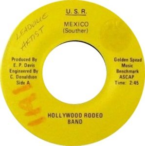 HOLLYWOOD RODEO BAND - DENVER A
