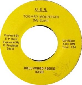 HOLLYWOOD RODEO BAND - DENVER B