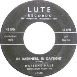 LUTE 5907 - PAUL DARLENE A