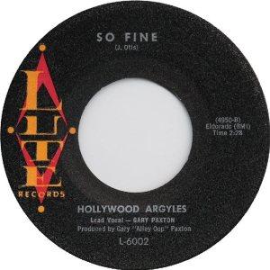 LUTE 6002 - HOLLYWOOD ARGYLES D