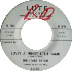 LUTE 6003 - STARR SISTERS D
