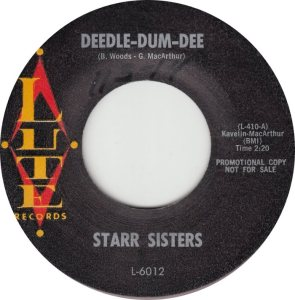 LUTE 6012 - STARR SISTERS A