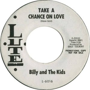 LUTE 6016 - BILLY AND KIDS A