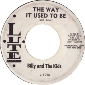 LUTE 6016 - BILLY AND KIDS B