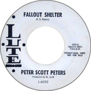 LUTE 6020 - PETERS SCOTT A
