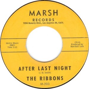 MARSH 203 RIBBONS A