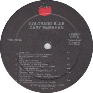 MCMAHAN GARY - TOMATO 70248 R