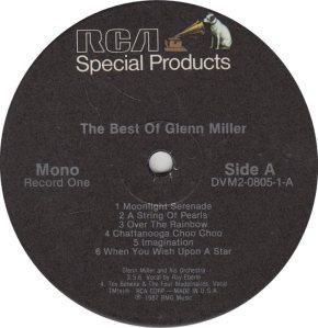 MILLER GLENN - RCA CUSTOM 270 R