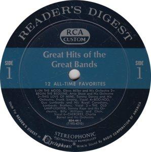 MILLER GLENN - RCA CUSTOM 44 R