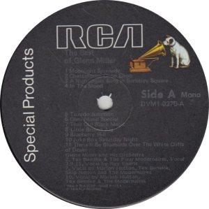 MILLER GLENN - RCA CUSTOM 805 R