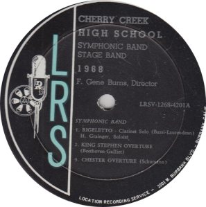 SCHOOL - CHERRY CREEK HIGH - LRS 1268 R_0001