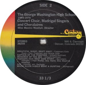 SCHOOL - GEORGE WASHINGTON - CENTURY 39259 R_0001