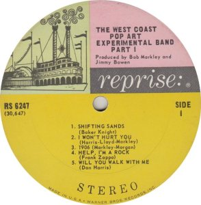 WEST COAST POP EXPERIMENTAL - REPRISE 6247 R