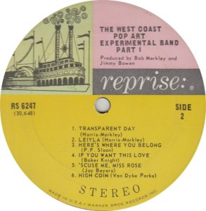 WEST COAST POP EXPERIMENTAL - REPRISE 6247 R_0001