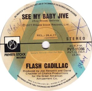 FLASH CADILLAC - AUSTRALIA 77-11396 A