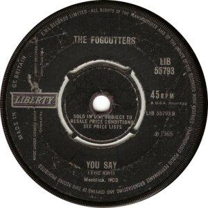 FOGCUTTERS - UK 66-55793 B