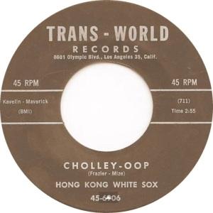 HONG KON WHITE SOX - TRANS WORLD 6906 C