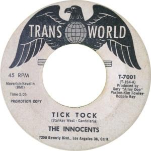INNOCENTS - TRANSWORLD 7001 DJ B