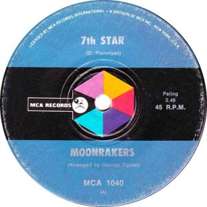 MOONRAKERS - AUSTRALIA - 70-1040 A