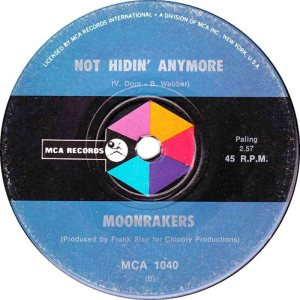 MOONRAKERS - AUSTRALIA - 70-1040 B