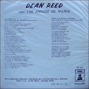 REED DEAN - 45 CHILE REV 1970 B