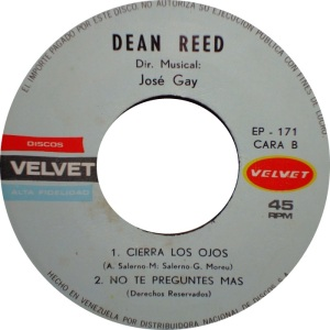 REED DEAN - 45 - VENUZ VELVET D