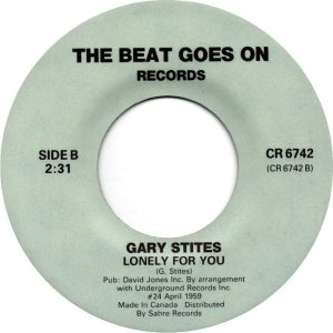 STITES GARY - CANADA 70'S-6742 A ONLY