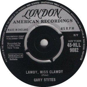 STITES GARY - UK 60-9062 A