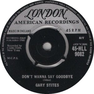 STITES GARY - UK 60-9062 B