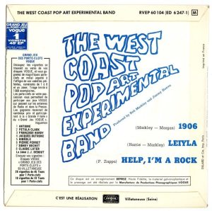 WEST COAST POP - FRANCE 67-104 B