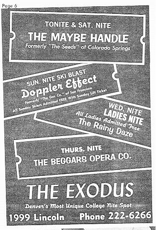 Denver Folk Haven - The Exodus