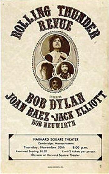 1976 Dylan Tour