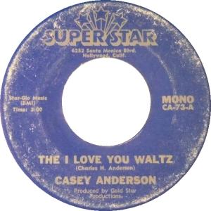ANDERSON CASEY - SUPERSTAR 45 1973