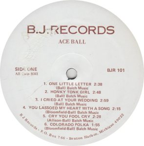 BALL ACE - BJ 101