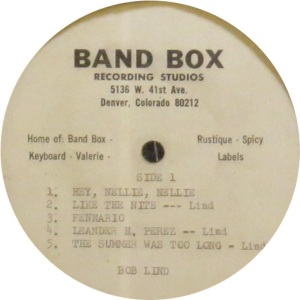BAND BOX ACETATE - LIND BOB 2