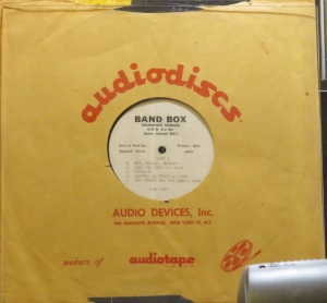 BAND BOX ACETATE - LIND BOB