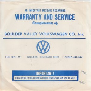 BOULDER VALLEY MOTORS