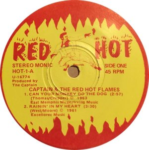 CAPTAIN & RED HOT FLAMES EP