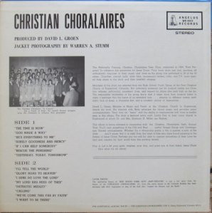 CHRISTIAN CHORALAIRS - ANGELUS 4813 A (4)