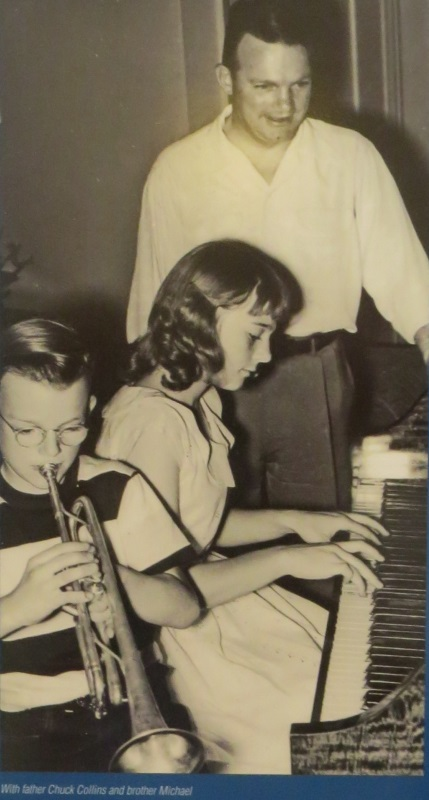 A Young Judy Collins on the Keyboards (Colorado Music Hall of Fame)