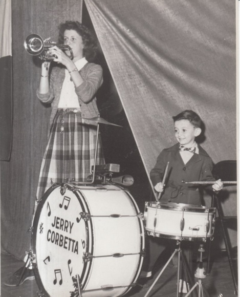 North Denver's Jerry Corbetta with his Sister Back in the Day