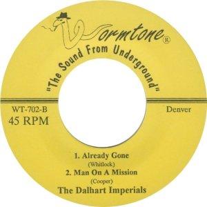 DALHART IMPERIALS - WORMTONE 702 D