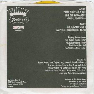 DALHART IMPERIALS - WORMTONE 703 B